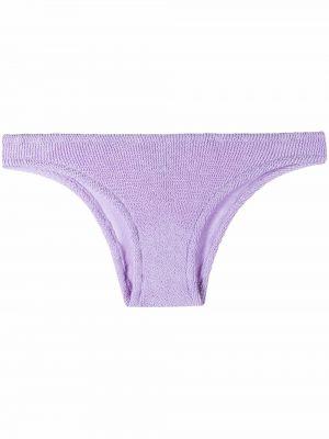 Фиолетовый пляжный бикини с низкой посадкой Mc2 Saint Barth