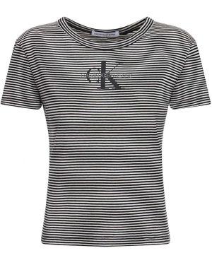 Футболка футбольный с логотипом Calvin Klein Jeans