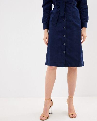 Синяя юбка свободного кроя Charuel