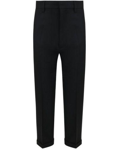 Укороченные брюки с отворотами со стрелками Dsquared2
