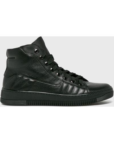 Кожаные ботинки высокие повседневные Domeno