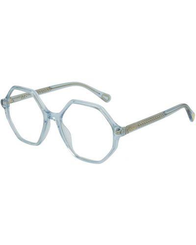 Niebieskie okulary Chloe