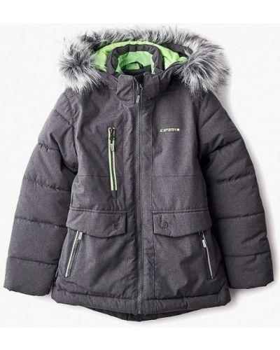 Серая куртка теплая Icepeak