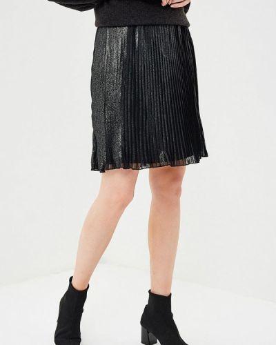 Черная юбка мини Naf Naf