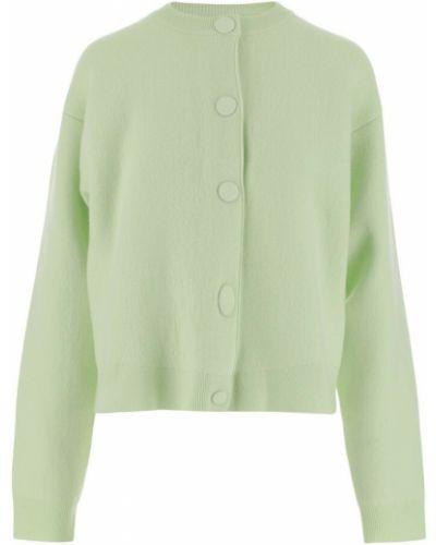Zielony sweter Jil Sander