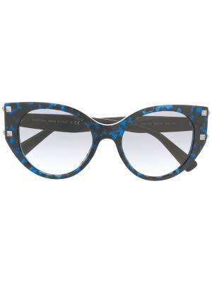 Солнцезащитные очки хаки с заклепками Valentino Eyewear