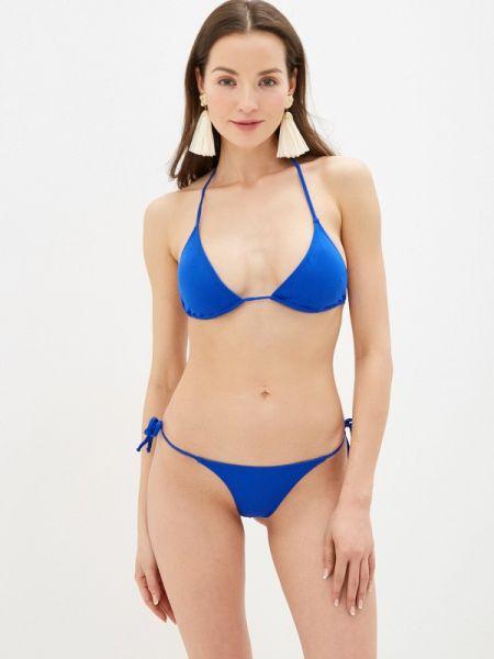 Купальник халтер синий Phax