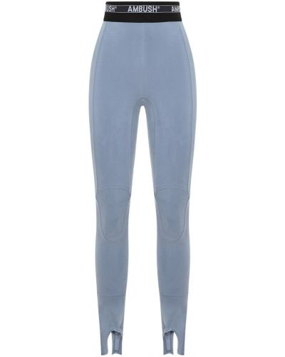 Niebieskie legginsy Ambush