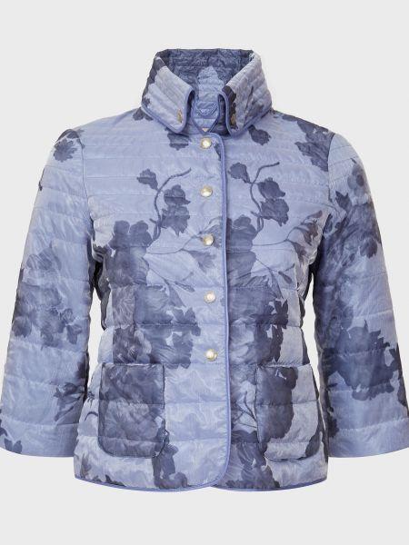 Куртка на кнопках - голубая Gallotti