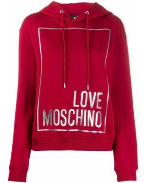 Топ с капюшоном Love Moschino