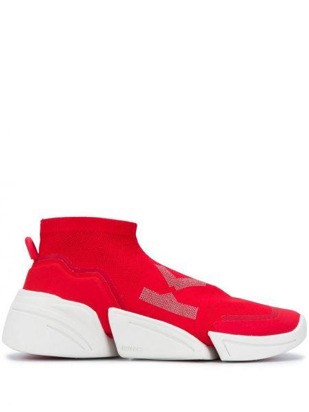 Массивные красные носки эластичные Kenzo
