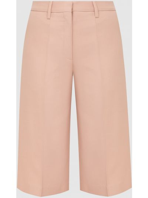 Светло-розовые шерстяные бермуды Valentino
