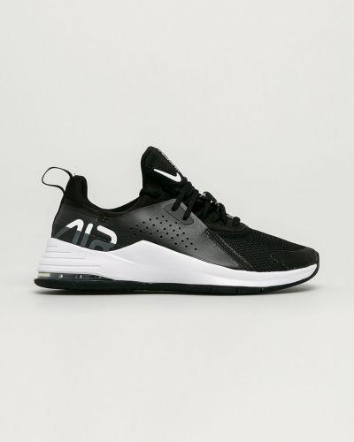 Czarne sneakersy sznurowane Nike