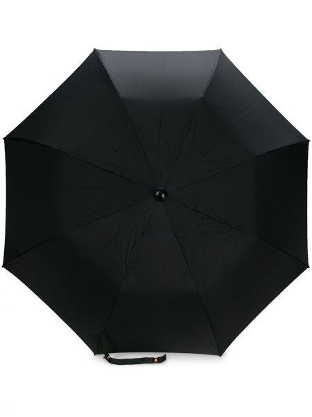 Parasol z logo czarny Chanel Pre-owned