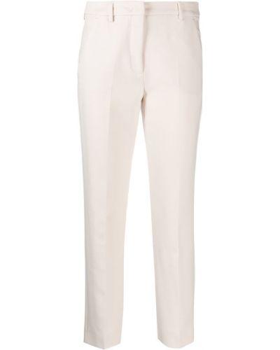 Укороченные брюки с поясом Weekend Max Mara
