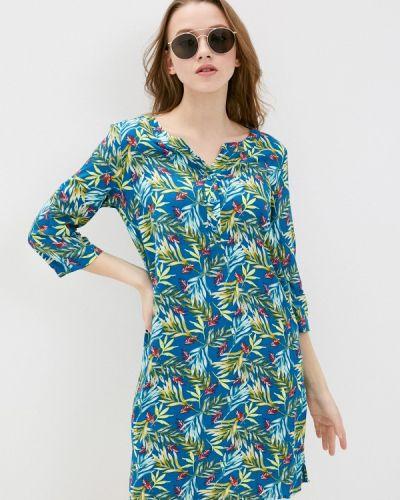 Повседневное синее платье Savage