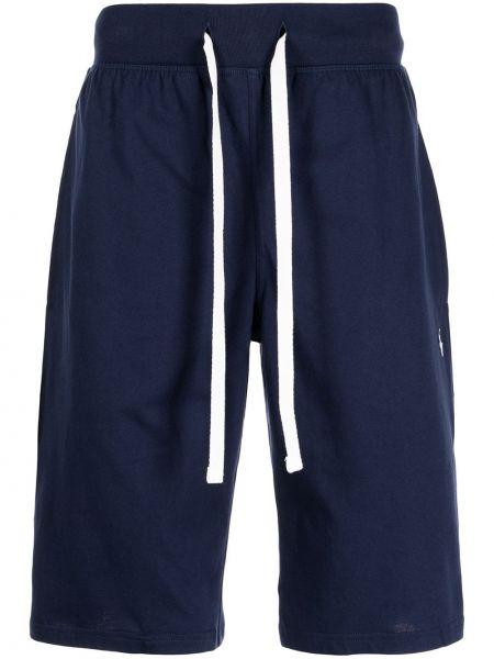 Синие хлопковые шорты Polo Ralph Lauren