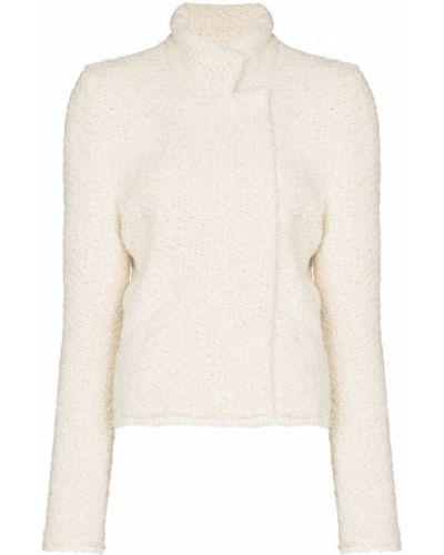Белая куртка из полиэстера Isabel Marant