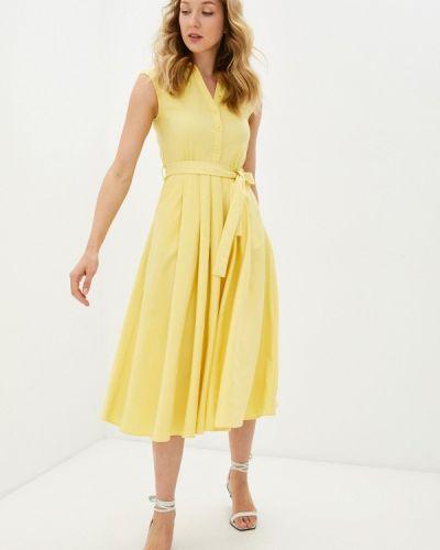 Желтое платье-рубашка Savage