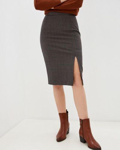 Серая юбка узкого кроя Marks & Spencer