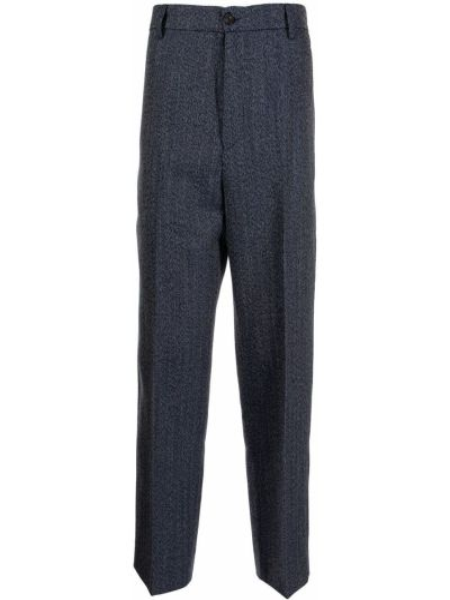 Серые брюки из полиэстера Kenzo