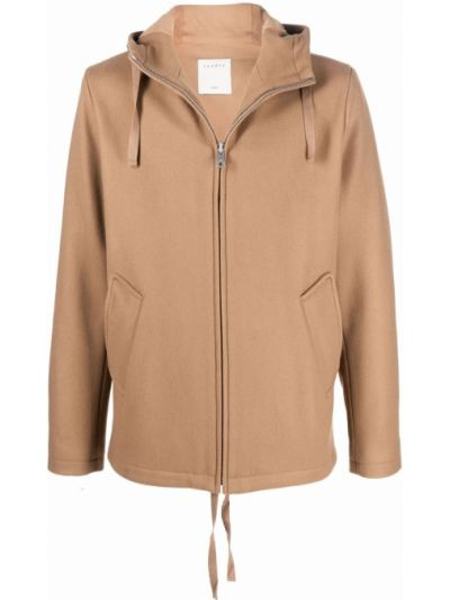 Brązowa kurtka bawełniana Sandro Paris