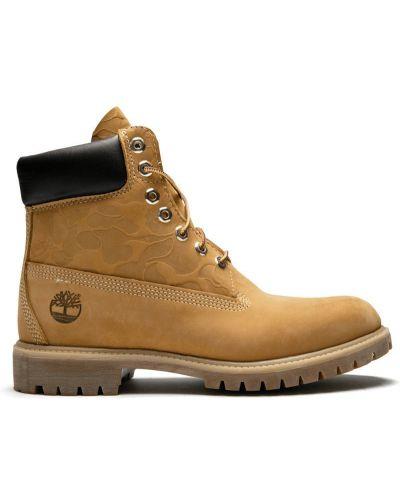 Ботинки плоский желтый Timberland