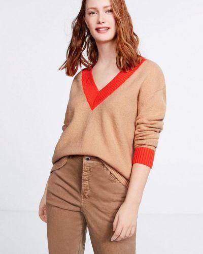 Пуловер бежевый Violeta By Mango