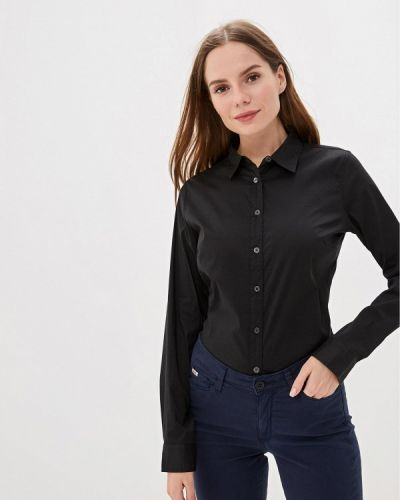 Рубашка с длинным рукавом черная Rifle