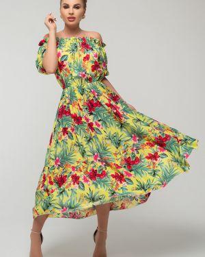 Нарядное платье миди Петербургский Швейный Дом