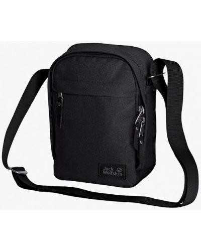 Черная сумка Jack Wolfskin