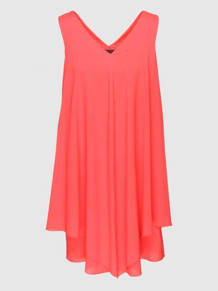 Шелковое красное платье мини Fabiana Filippi