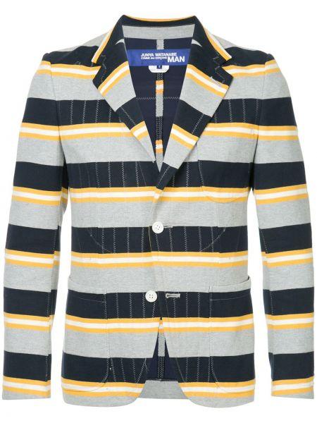 Пиджак с карманами винтажный с заплатками на пуговицах Junya Watanabe Comme Des Garçons Pre-owned