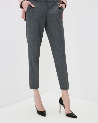 Серые классические брюки Trussardi