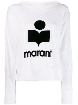 Bluza dresowa - biała Isabel Marant Etoile