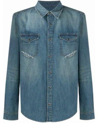 Koszula - niebieska Givenchy