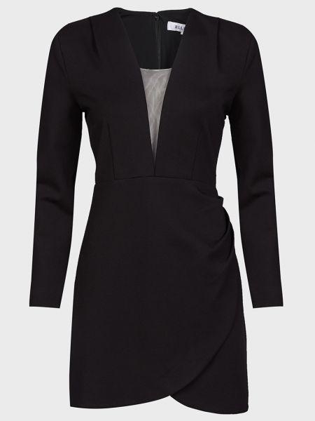 Черное платье из вискозы на молнии Elliatt
