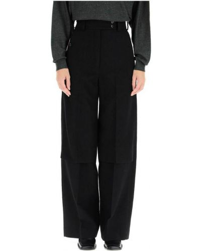 Czarne spodnie Lemaire