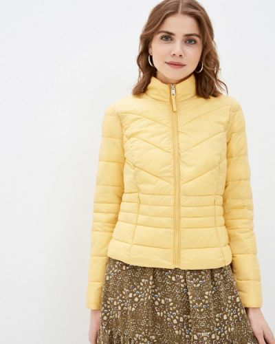 Утепленная желтая куртка Vero Moda