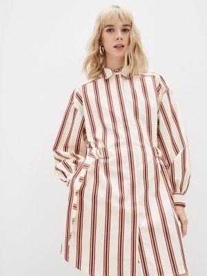 Бежевое платье рубашка Ted Baker London