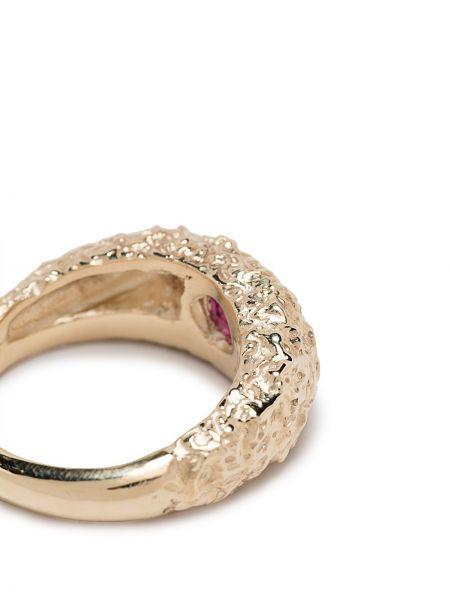 Деловое кольцо золотое с гранатом Susannah King