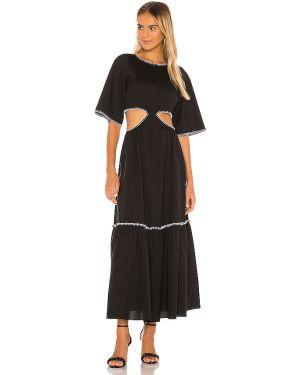 Czarna sukienka bawełniana Petersyn