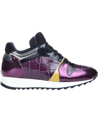 Фиолетовые кроссовки Iceberg