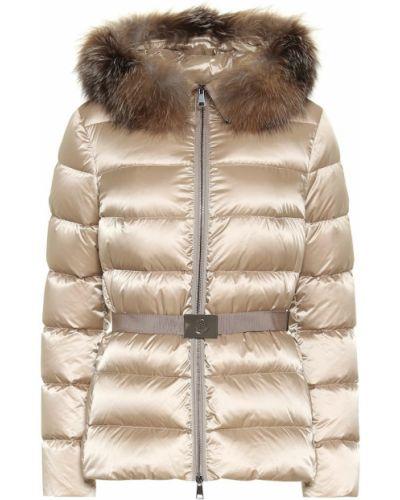 Куртка с опушкой треккинговая Moncler