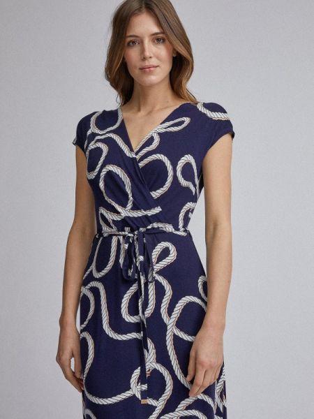 Платье прямое синее Dorothy Perkins