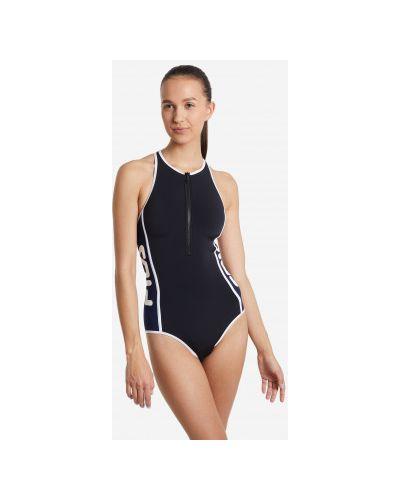 Облегающий моделирующий черный купальник Fila