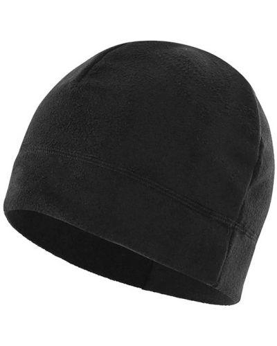 Флисовая шапка - черная Lesko