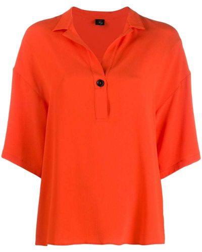 Блузка с широкими рукавами спущенная Fay