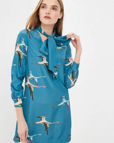 Повседневное платье весеннее бирюзовый Ted Baker London