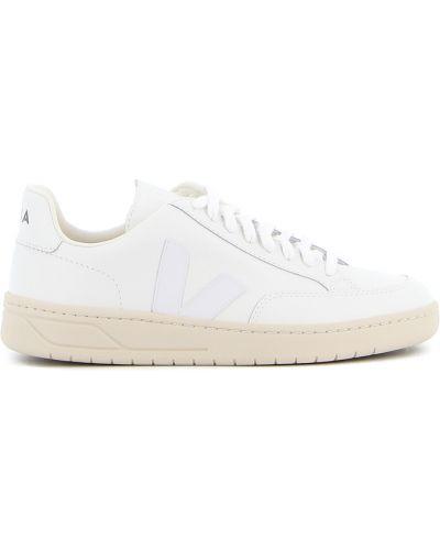 Białe sneakersy skorzane Veja